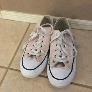 Pastel Pink Converse